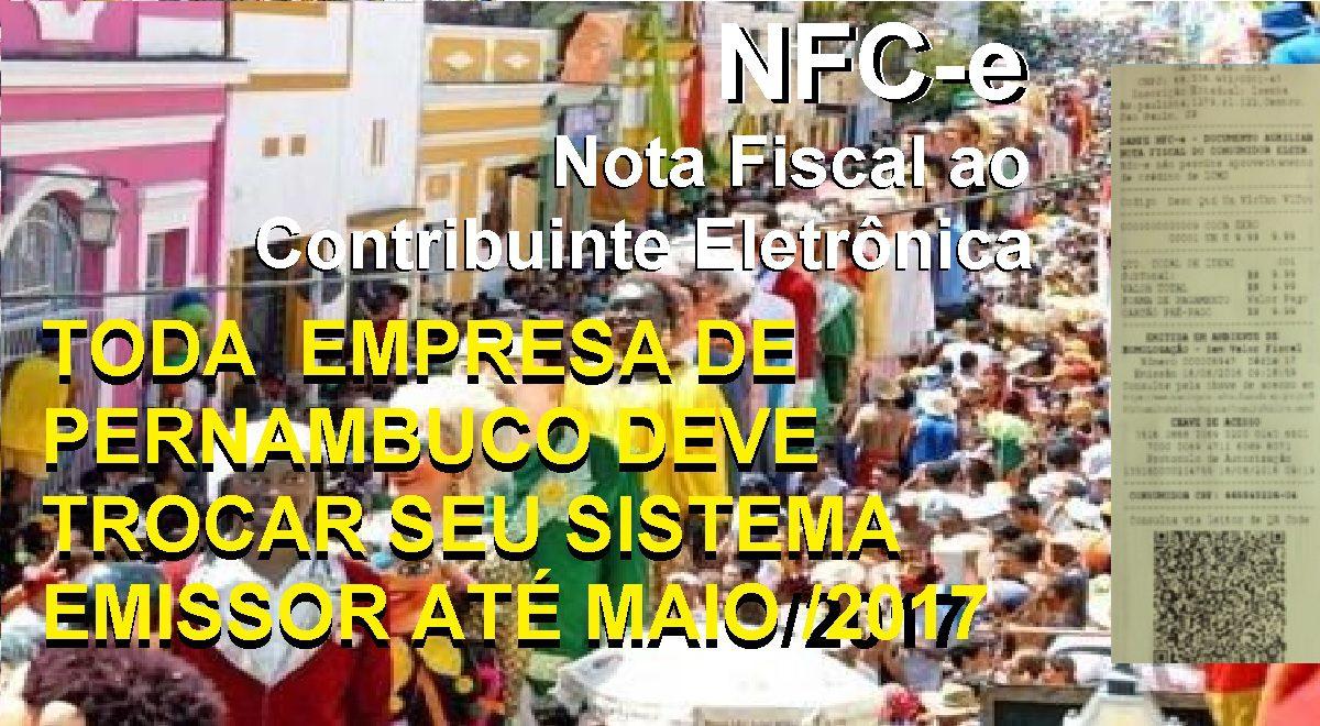 Supermercados iniciam obrigatoriedade NFC-e em Pernambuco. A partir de Maio de 2017 toda empresa deve aderir.
