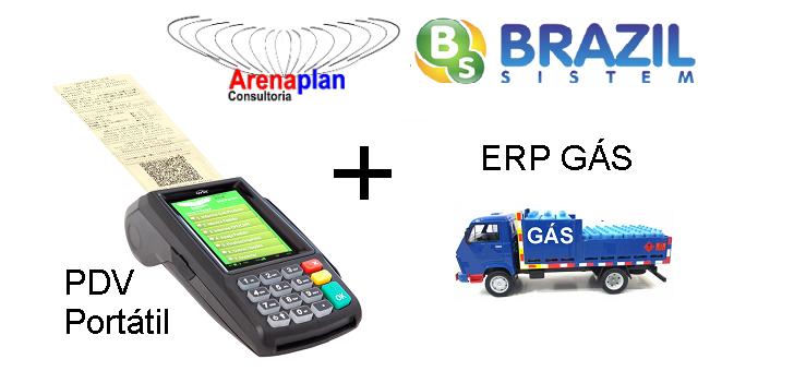 Com mudança na legislação fiscal, as empresas de gás já contam máquina de cartão para emissão de nota fiscal em caminhões