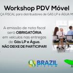 Workshop mostra PDV Móvel na impressão de nota fiscal na área de distribuição de gás e água